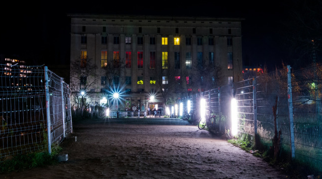 berlin Berghain klubb