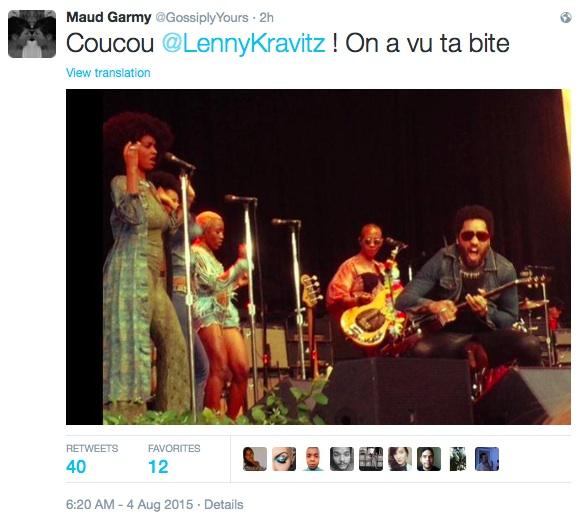 Lenny Kravitz visade hela paketet i Stockholm : Festivalrykten